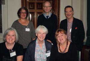 Joy Barlow, Sue Smith, Martinn Smith, Carole Sharma and Judith Yates