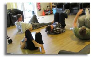 Yoga at Brynawel Drug and Alcohol rehab