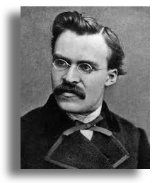 Friedrich Nietzsche picture with the quote: 'If we have our own why in life, we shall get along with almost any how.'
