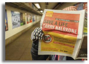 advert for naloxone