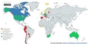 Drug Decriminalisation Map