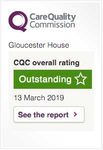 CQC Outstanding Gloucester House