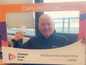 Peter Furlong, North West harm reduction lead and development manager at Change Grow Live